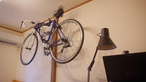 自転車壁掛けならディアウォールがおすすめ