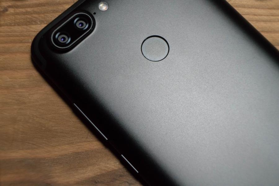 Lenovo S5ボディ指紋センサー