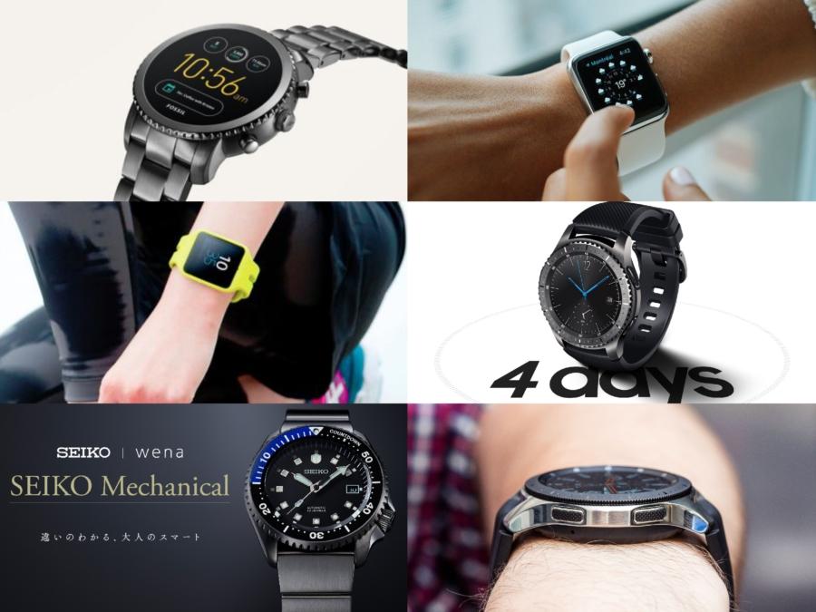 4ab38b4b9b スマートウォッチといえばApple Watchのイメージが強いし、事実現在はApple Watch一強状態なんだけど、実は各社Apple  Watchに追いつくべく多数のスマートウォッチを ...